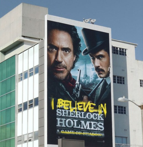I believe in Sherlock 4
