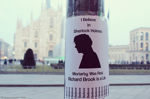 I believe in Sherlock 5