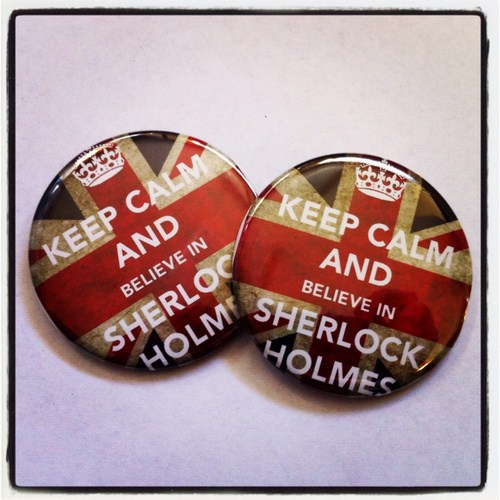 I believe in Sherlock 8