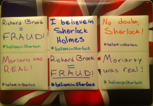 I believe in Sherlock 9