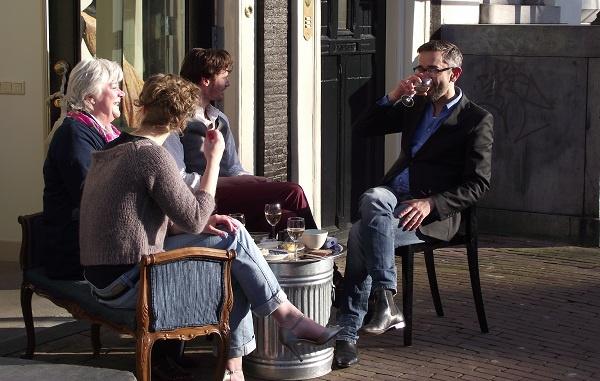 Udělat si kavárnu přímo před domem? Proč ne