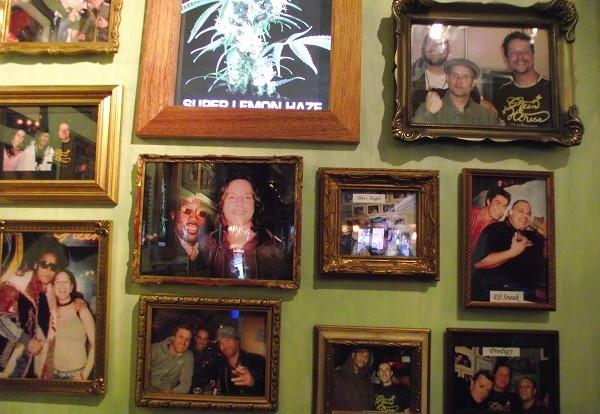 Obrázky slavných v Green House